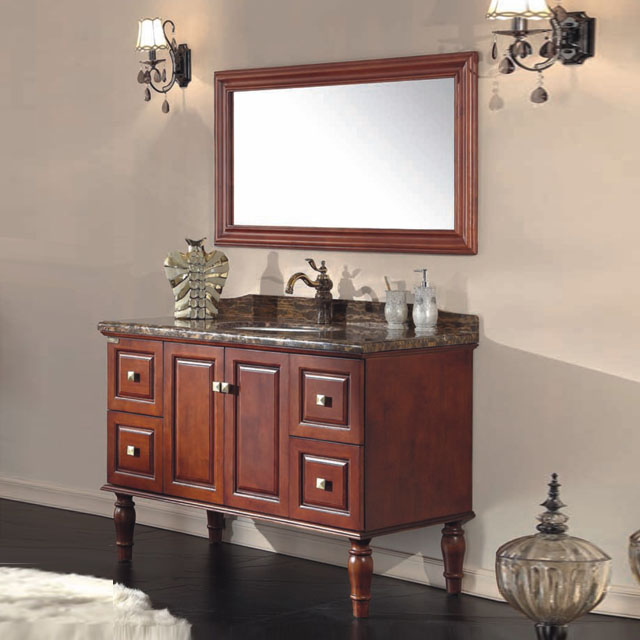 Bath Furniture Solid Wood Bathroom Cabinets